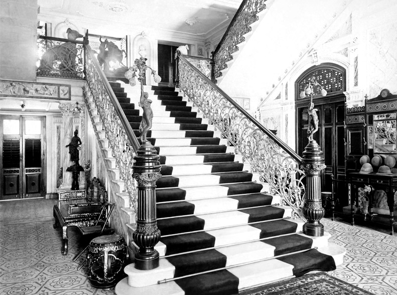 Magnificent marble staircase