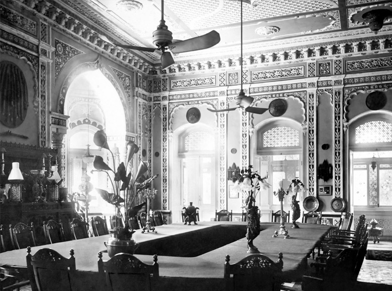 Indian dining room